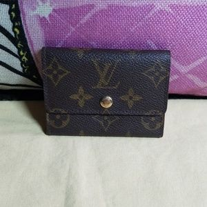 Authentic Louis Vuitton coin or card holder
